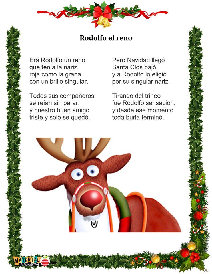 letra de Rodolfo el Reno